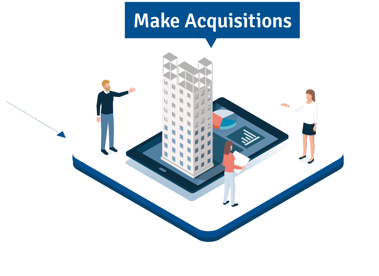 Make Acquisitions