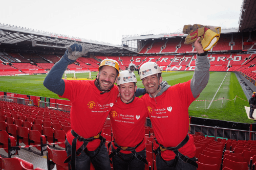 B2B International Abseil Team