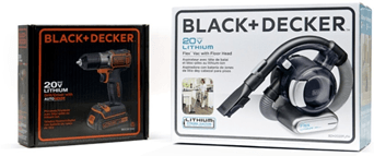 BLACK+DECKER New Brand Packaging