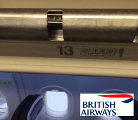 British Airways Row 13