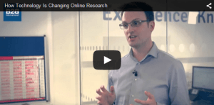 technology changing online research
