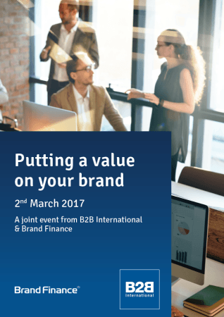 value of the brand