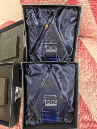 B2B International Awarded Two IQCS Awards