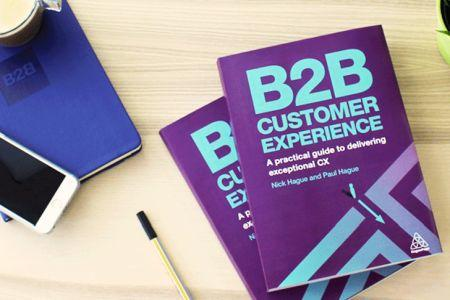 """'B2B Customer Experience"""" Nominated in Business Book Awards"""