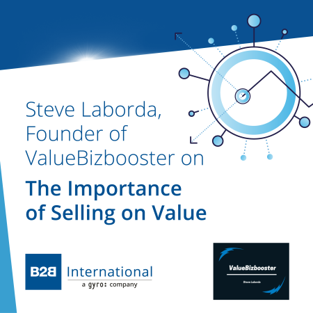 Insights Inside #5: The Importance of Selling on Value w/ Steve Laborda (ValueBizbooster)