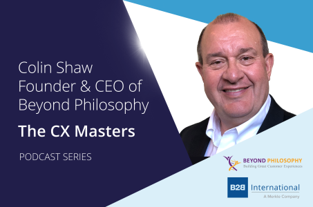 CX Masters Podcast Series: Colin Shaw, Beyond Philosophy
