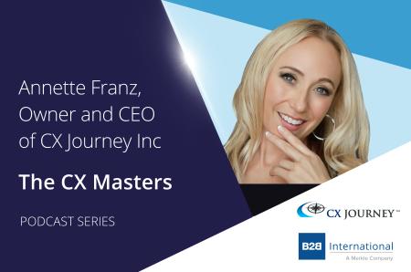CX Masters Podcast Series #5: Annette Franz, CX Journey