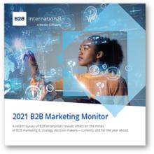 International Market Research Day - 2021 B2B Marketing Monitor
