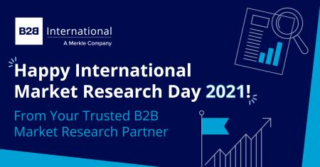 Happy International Market Research Day from B2B International