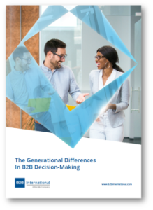 International Market Research Day - The Generational Differences in B2B Decision-Making