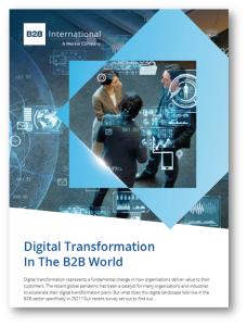 Digital Transformation in the B2B World